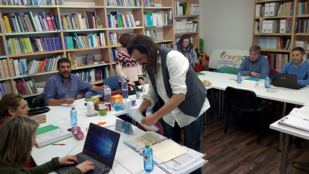 Jornadas Formación Chito, Fran del Buey, Paco Murcia